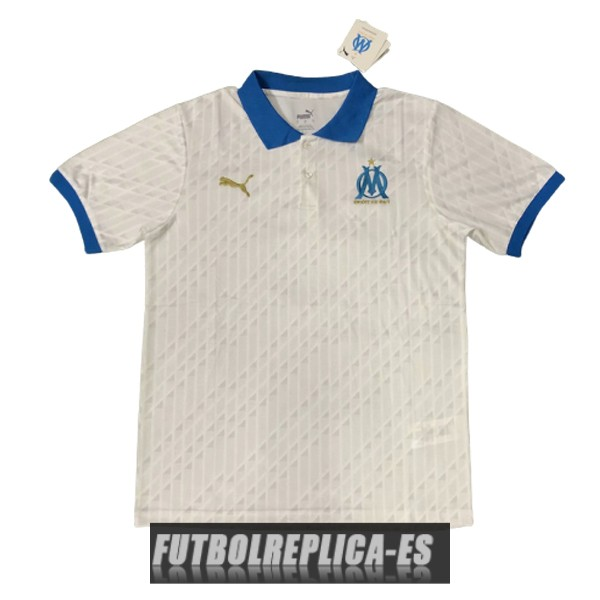azul blanco marsella polo 2020-2021