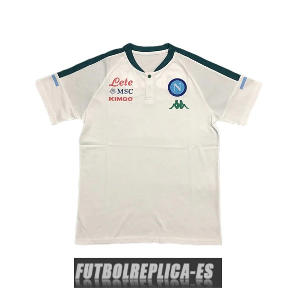 blanco napoli polo 2020-2021