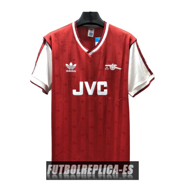 primera arsenal camiseta retro 1986-1988