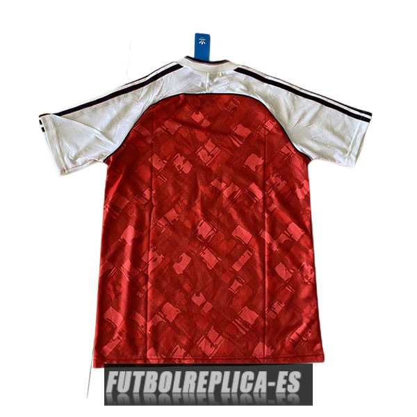 primera arsenal camiseta retro 1990-1992