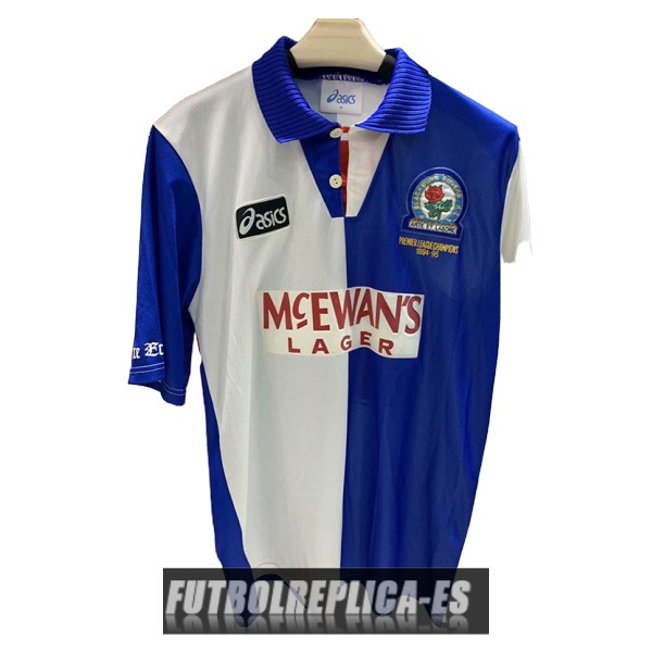 primera blackburn rovers camiseta retro 1994-1995