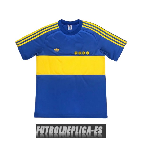 primera boca juniors camiseta retro 1981-1982