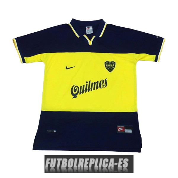 primera boca juniors camiseta retro 1998-1999