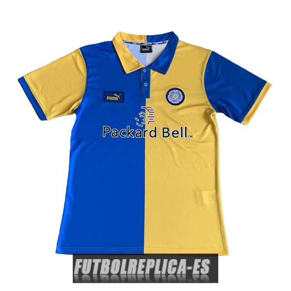 primera leeds united camiseta retro 1997-1999