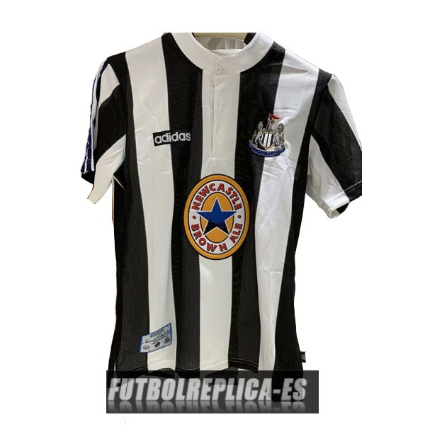 primera newcastle united camiseta retro 1995-1997