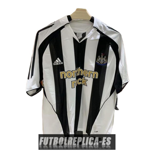 primera newcastle united camiseta retro 2005-2007