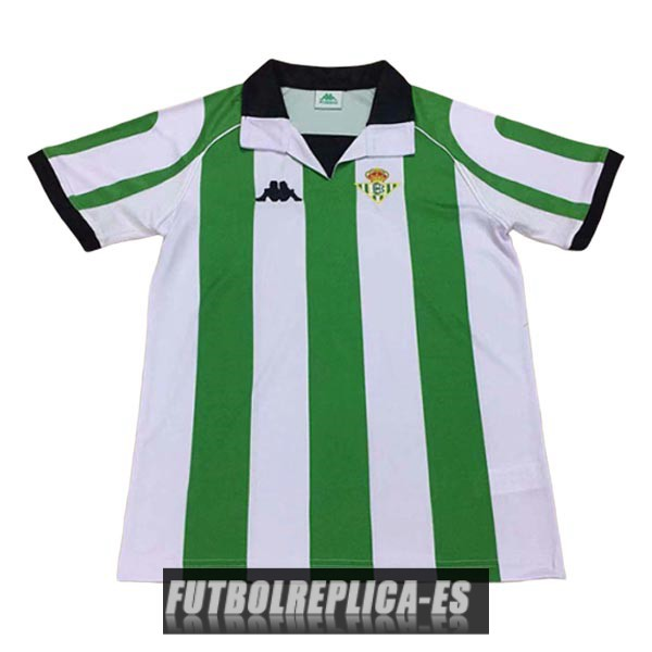 primera real betis camiseta retro 1998