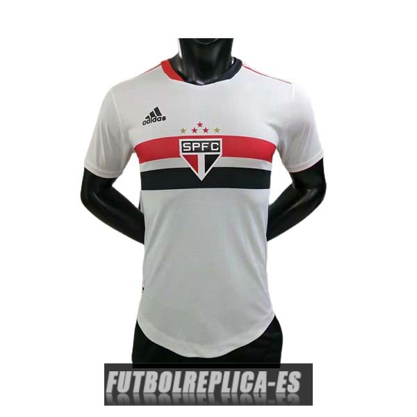 primera version player sao paulo camiseta 2021-2022