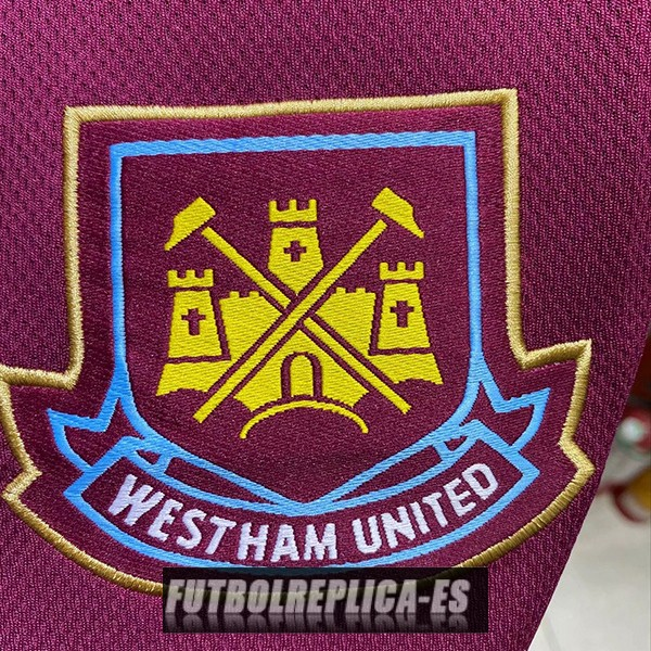 primera west ham united camiseta retro 1999-2001