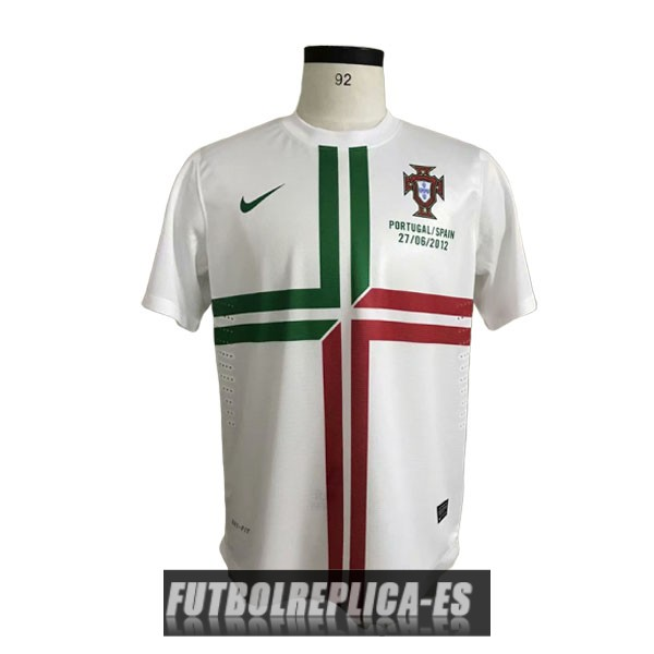 segunda portugal camiseta retro 2012-2013