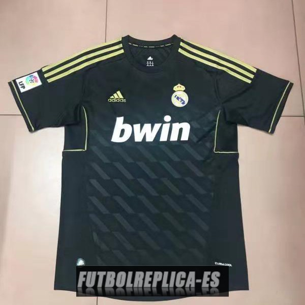 segunda real madrid camiseta retro 2011-2012
