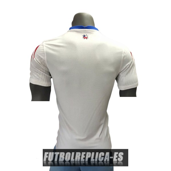 segunda version player chile camiseta 2020