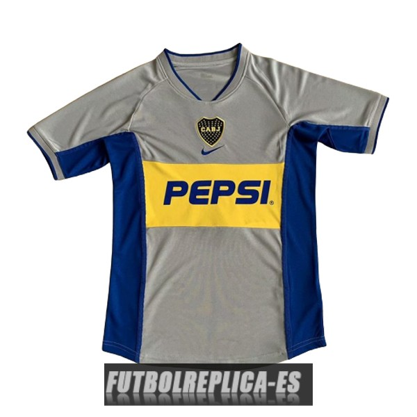 tercera boca juniors camiseta retro 2002