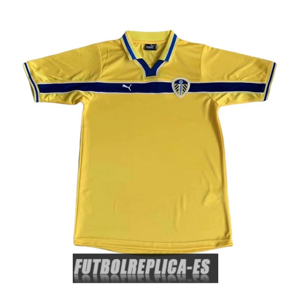 tercera leeds united camiseta retro 1999
