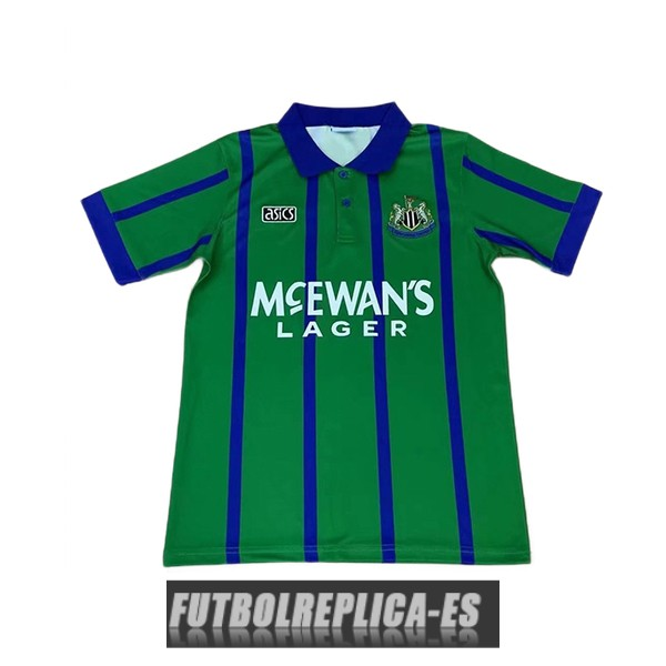 tercera newcastle united camiseta retro 1993-1995